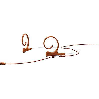 DPA Microphones d:fine FID88 capsule Directional Headset Microphone—Dual ear, 100mm boom, Brown