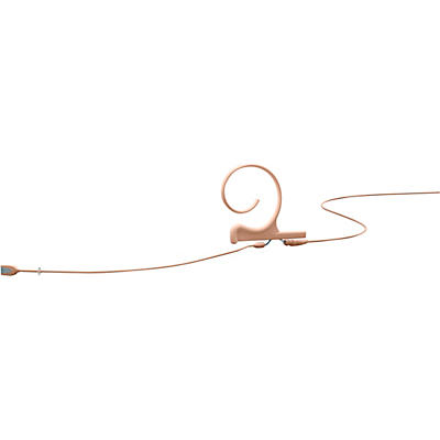 DPA Microphones d:fine FIO Slim Omnidirectional Headset Microphone—Dual Ear, 120mm Boom, Hardwired 3 Pin Lemo, Beige