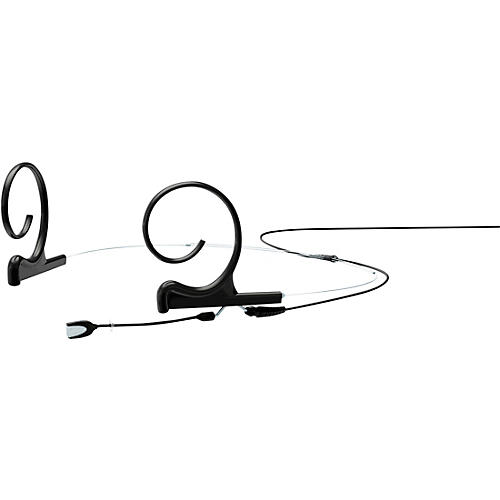 DPA Microphones d:fine FIO Slim Omnidirectional Headset Microphone—Dual Ear, 40mm Boom, Hardwired 3Pin Lemo, Black