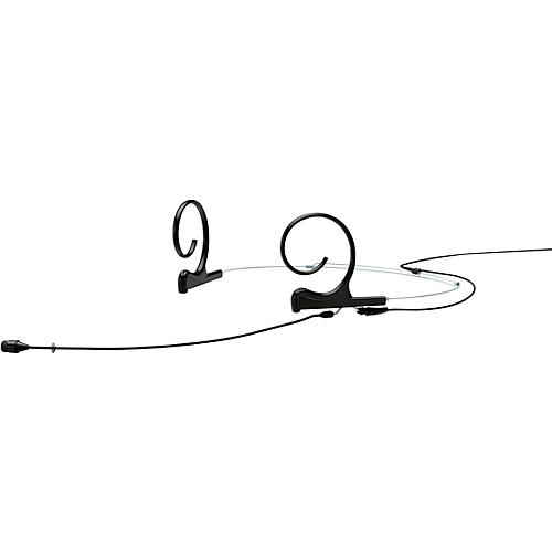 DPA Microphones d:fine FIO66 Omnidirectional Headset Microphone—Dual Ear, 110mm Boom, Hardwired 3.5mm Mini Jack, Black