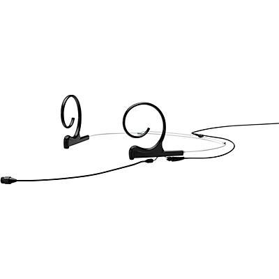 DPA Microphones d:fine FIO66 Omnidirectional Headset Microphone—Dual Ear, 90mm Boom, Hardwired TA4F, Black