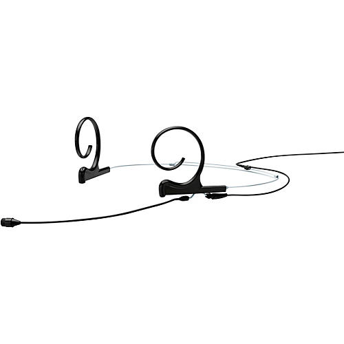 DPA Microphones d:fine FIO66 Omnidirectional Headset Microphone—Dual Ear, 90mm Boom, Microdot Connector, Black