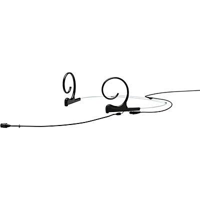 DPA Microphones d:fine FIO66 Omnidirectional Headset Microphone—Dual ear, 110mm boom, hardwired 3Pin Lemo, Black