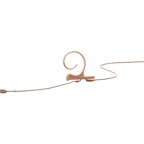 DPA Microphones d:fine Flex Directional Slim Headset Microphone—Single Ear, 100mm Boom, Hardwired 3.5mm Mini Jack, Beige