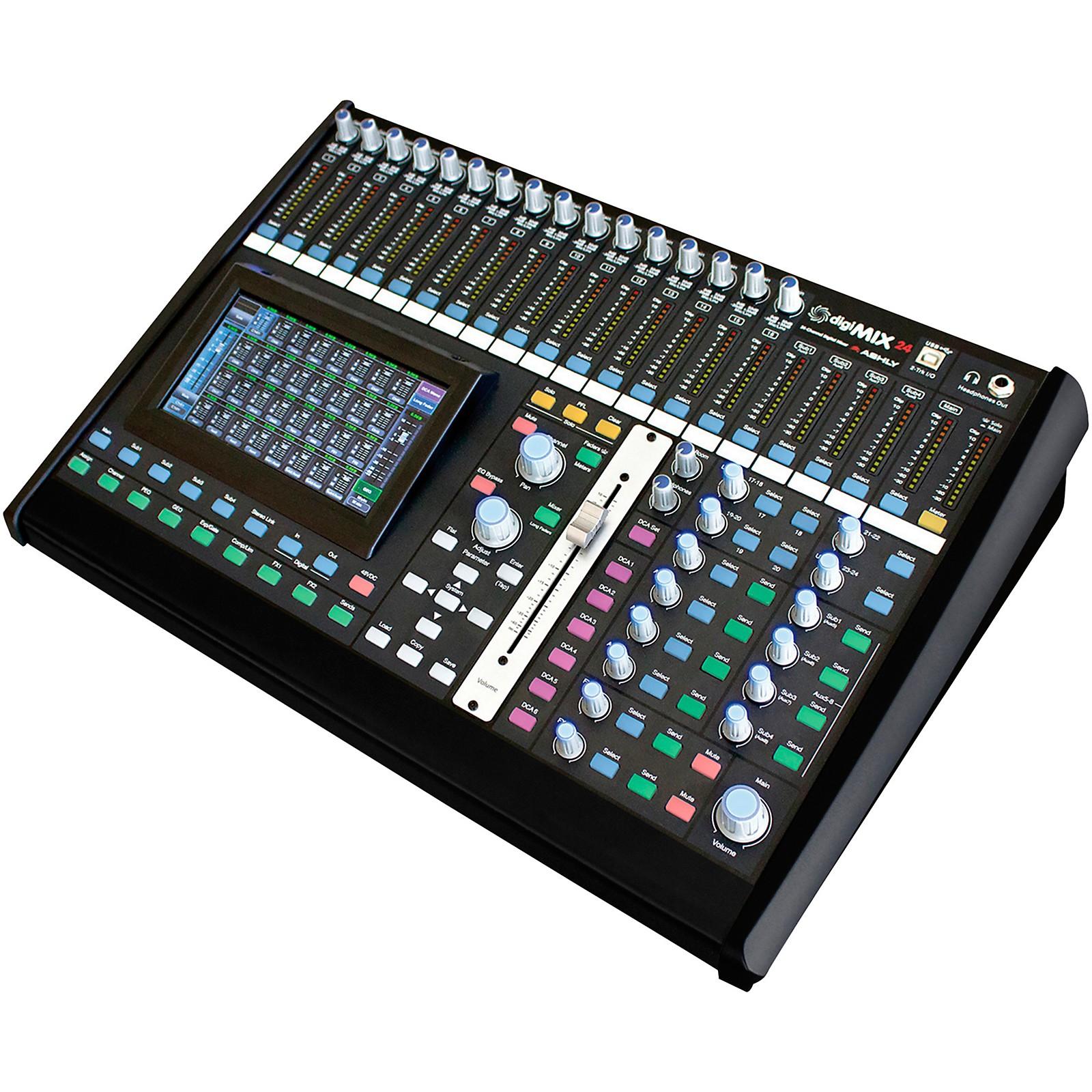 Ashly Audio digiMIX24 24-Chanel Digital Mixer