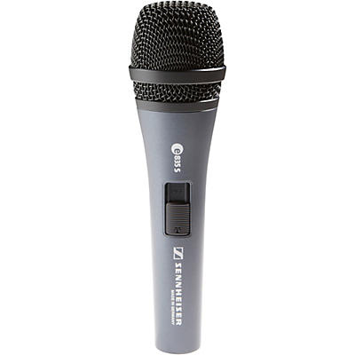 Sennheiser e 835-S Performance Vocal Microphone
