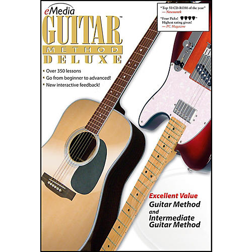 eMedia eMedia Guitar Method Deluxe - Digital Download Windows Version