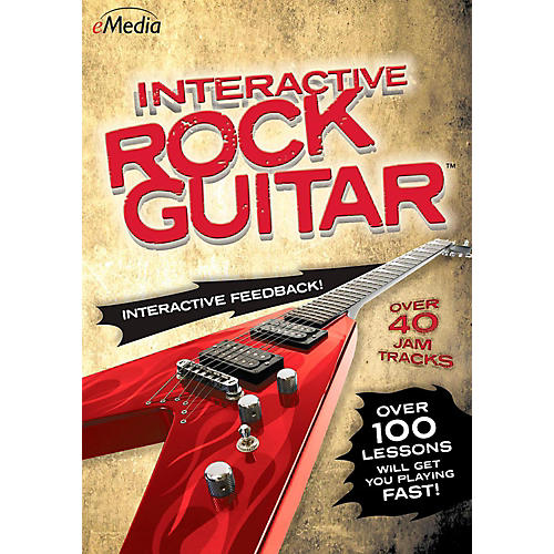 Emedia eMedia Interactive Rock Guitar - Digital Download