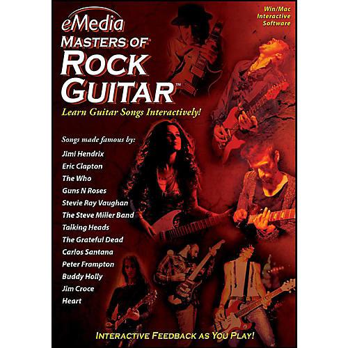 eMedia eMedia Masters of Rock Guitar - Digital Download