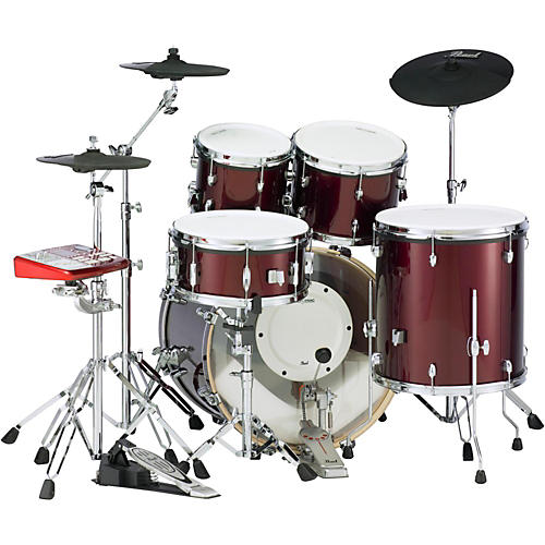 pearl epro powered by export acoustic electric new fusion drumset musician 39 s friend. Black Bedroom Furniture Sets. Home Design Ideas
