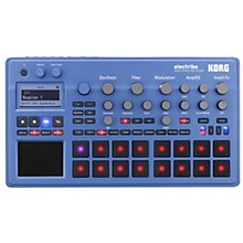 Open Box Korg electribe Music Production Station Blue Edition