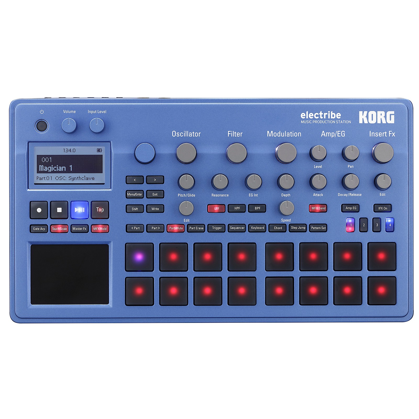 Korg electribe Music Production Station Blue Edition