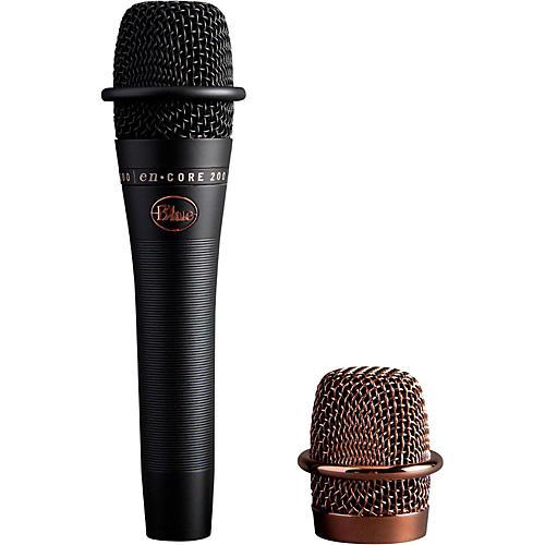 Blue enCore 200 Studio Grade Phantom Powered Active Dynamic Microphone Black