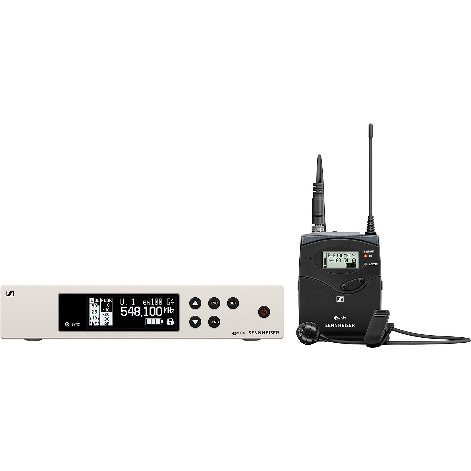 Sennheiser ew 100 G4 Lavalier Wireless System with ME2 Omnidirectional Lavalier Microphone