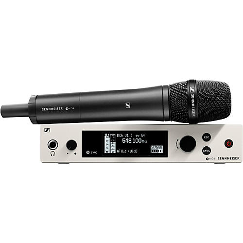 Sennheiser ew 500 G4 Handheld Wireless System with e 945 Capsule