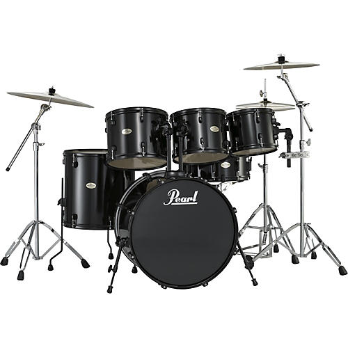 pearl forum 5 piece drum set with free 10 tom musician 39 s friend. Black Bedroom Furniture Sets. Home Design Ideas