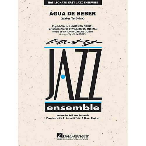 Hal Leonard Água de Beber (Water to Drink) Jazz Band Level 2 by Antonio Carlos Jobim Arranged by John Berry