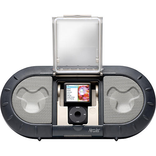 Hercules DJ i-XPS120 Outdoor Speaker System for iPod