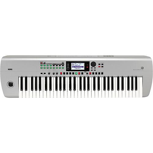 Korg i3 66-Key Music Arranger Silver