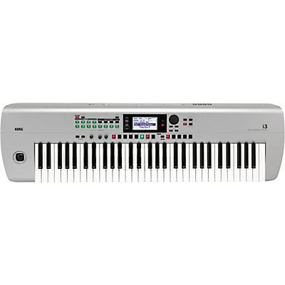 Korg i3 66-Key Music Workstation Silver