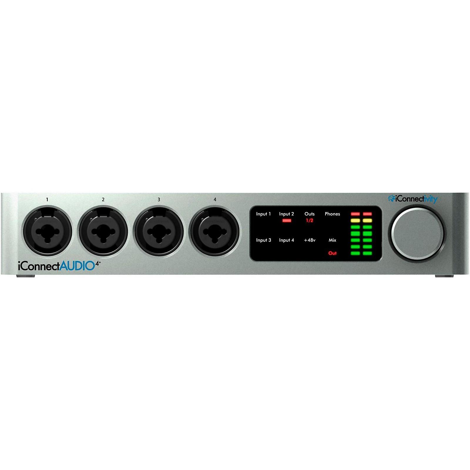 iConnectivity iConnectAUDIO4+ Audio/MIDI Interface for iOS/Mac/PC