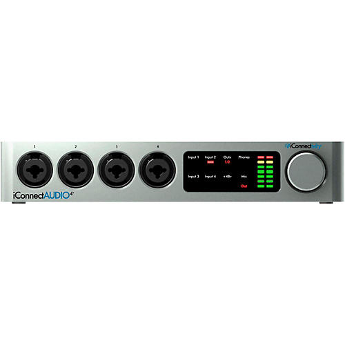 iconnectivity iconnectaudio4 audio midi interface for ios mac pc musician 39 s friend. Black Bedroom Furniture Sets. Home Design Ideas