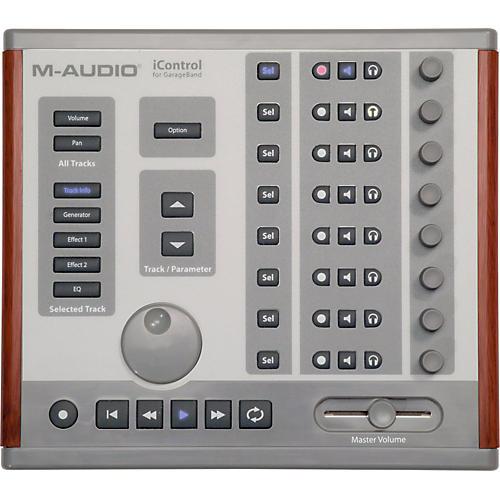 m audio icontrol garageband midi controller musician 39 s friend. Black Bedroom Furniture Sets. Home Design Ideas