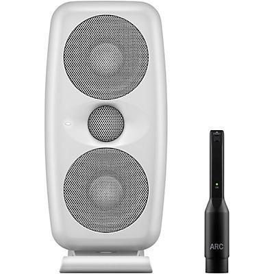 "IK Multimedia iLoud MTM Dual 3.5"" Powered Studio Monitor (Each) White"