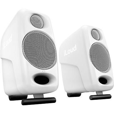 "IK Multimedia iLoud Micro Monitor 3"" Powered Studio Monitors (Pair), White"