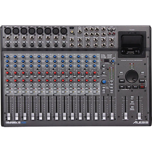 Alesis iMultiMix 16USB Professional Mixer and Recording Station