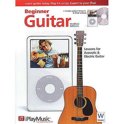Music Sales iPlayMusic Beginner Guitar (Windows Version) Music Sales America Series DVD-ROM