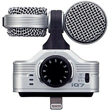 Open Box Zoom iQ7 MS Stereo Microphone for iOS