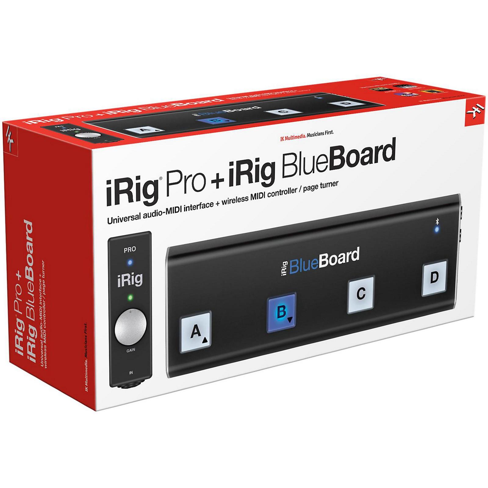 Ik Multimedia Irig Pro: IK Multimedia IRig Bundle Pro + Bboard