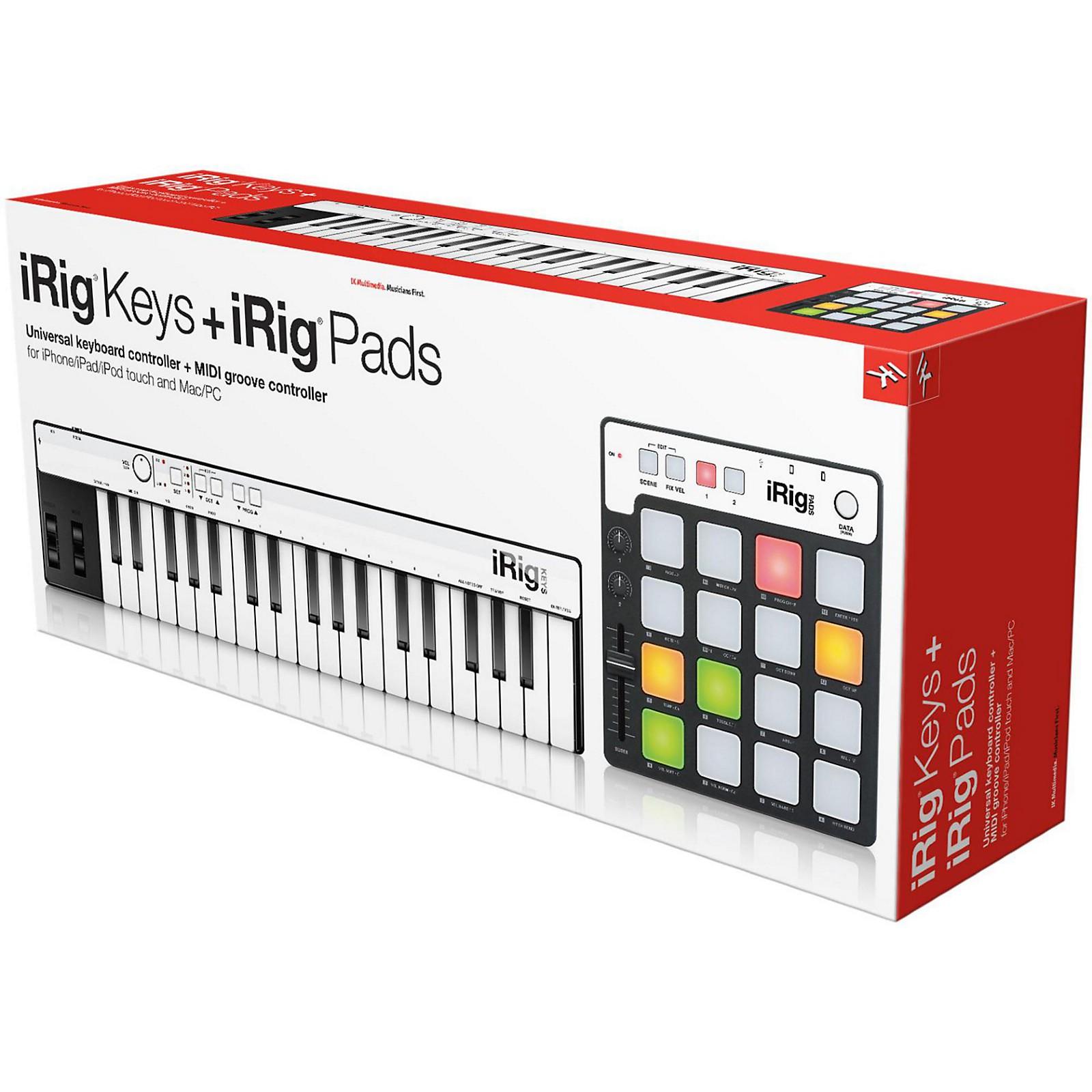 IK Multimedia iRig Keys + iRig Pads