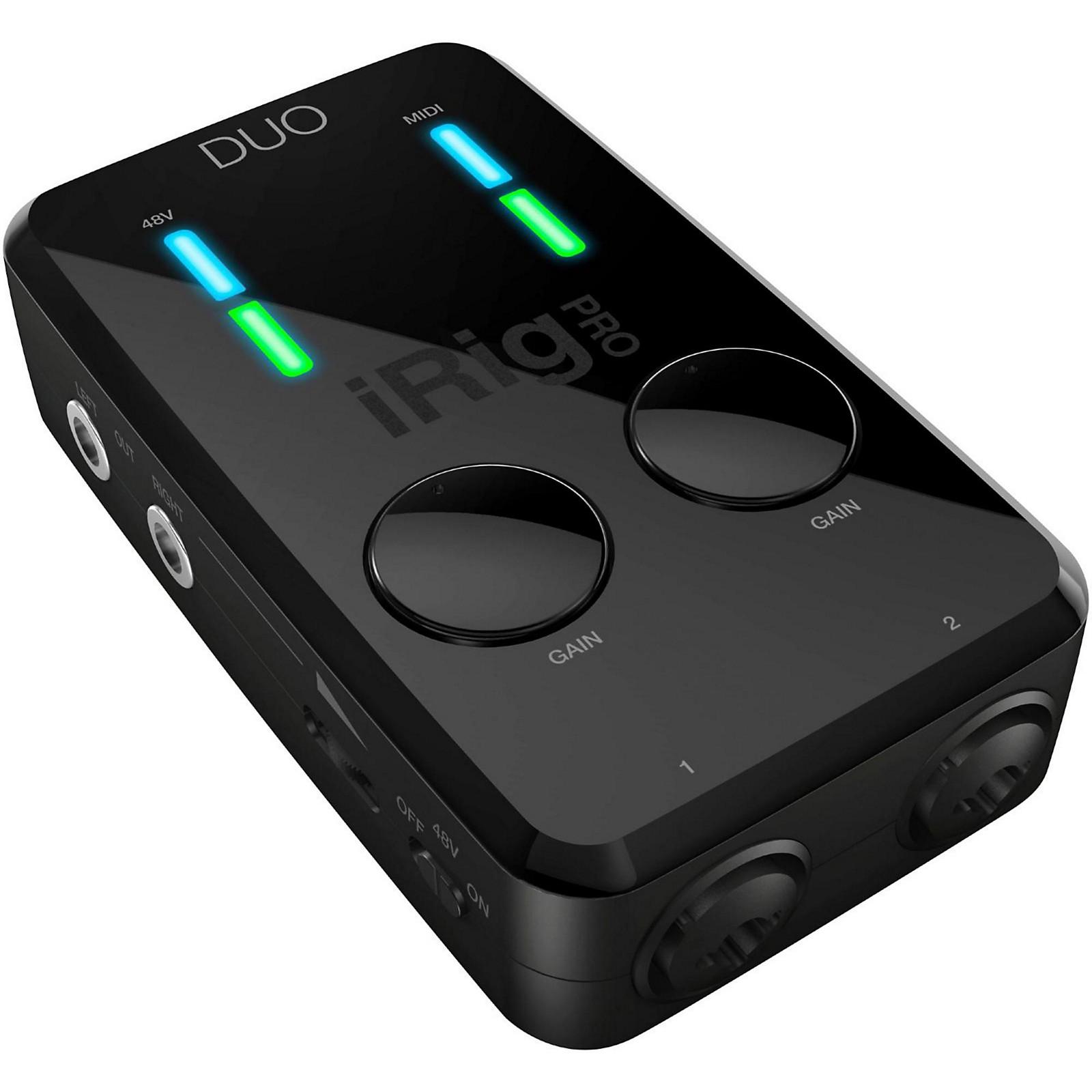 Ik Multimedia Irig Pro: IK Multimedia IRig Pro Duo Audio/MIDI Interface