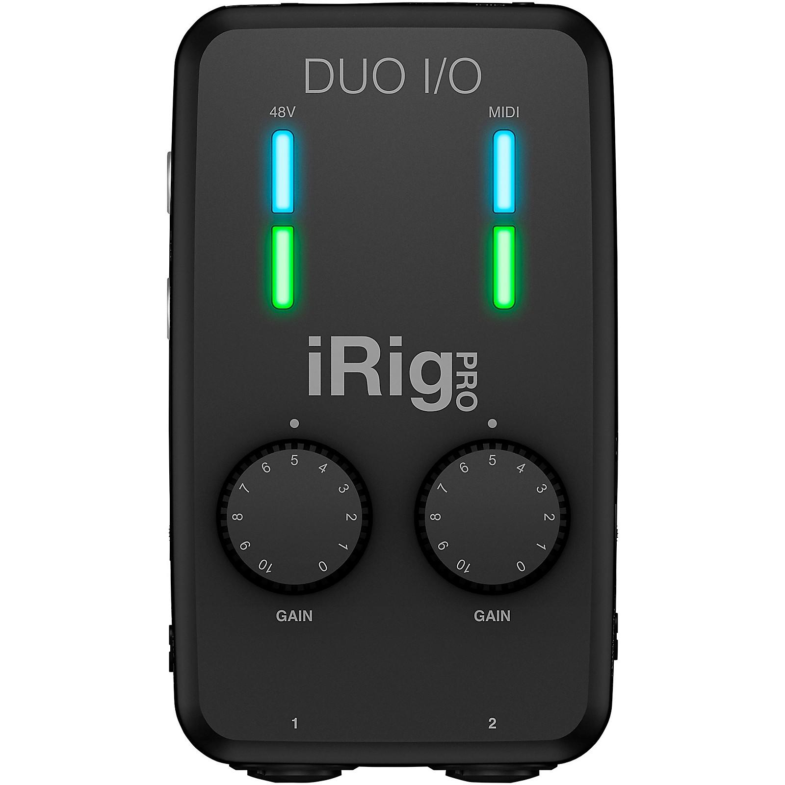 IK Multimedia iRig Pro Duo I/O Audio/MIDI Interface