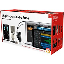 Open Box IK Multimedia iRig Pro Duo Studio Suite