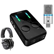 IK Multimedia iRig Studio Bundle with TH-300X Headphones
