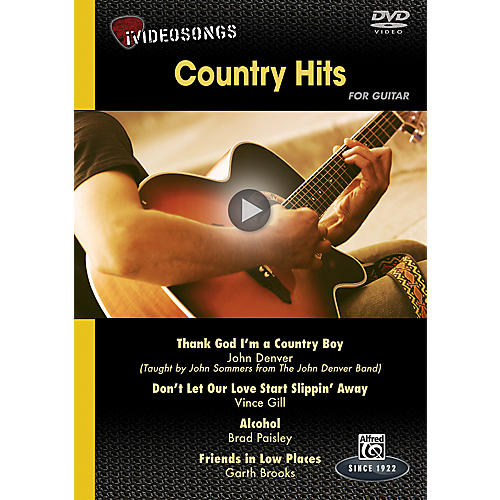 Alfred iVideosongs Country Hits DVD