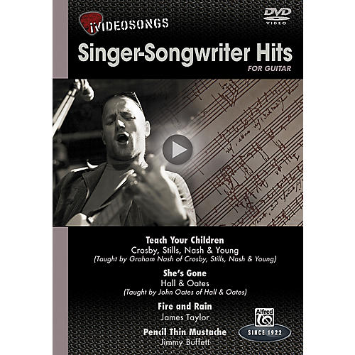 Alfred iVideosongs Singer-Songwriter Hits DVD