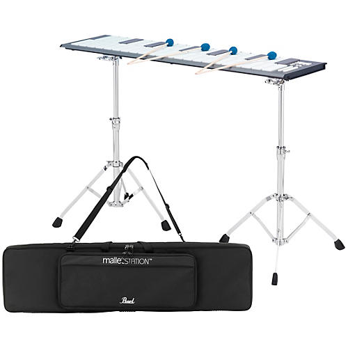 Pearl malletSTATION 3.0 Octave Adjustable Range Electronic Mallet Controller with Bag, Stands, and Mounts