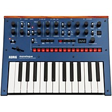 monologue Monophonic Analog Synthesizer Blue