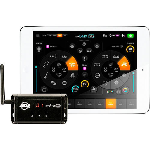 American DJ mydmx GO DMX Lighting Control System