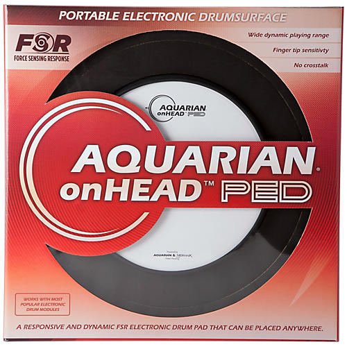 Aquarian onHEAD Portable Electronic Drumsurface Condition 1 - Mint 10 in.
