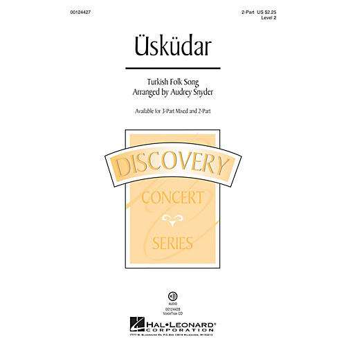 Hal Leonard Üsküdar (Discovery Level 2) 2-Part arranged by Audrey Snyder