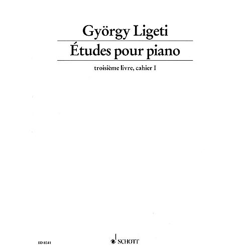 Schott Études pour Piano - Volume 3, Part 1 Schott Series