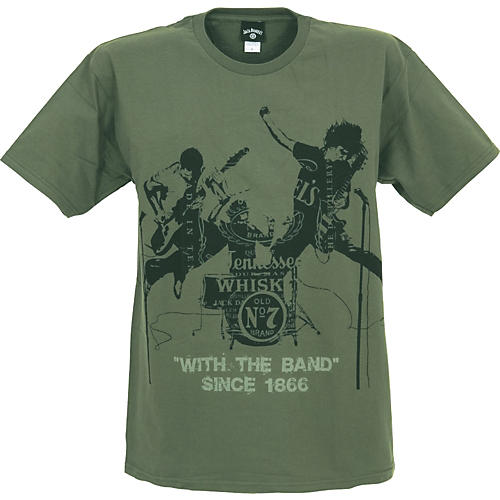 Jack Daniel's with the Band T-Shirt