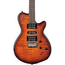 xtSA Flame Electric Guitar Light Burst